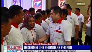 Video Hary Tanoesoedibjo Deklarasikan Dan Lantik Pengurus Partai Perindo Sulawesi Utara - BIP 04/09 MP3, 3GP, MP4, WEBM, AVI, FLV Desember 2017