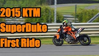 8. 2015 KTM SuperDuke 1290 First Ride Review