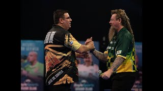"Simon Whitlock on incredible Grand Slam win over MVG: ""I feel on top of the world right now"""