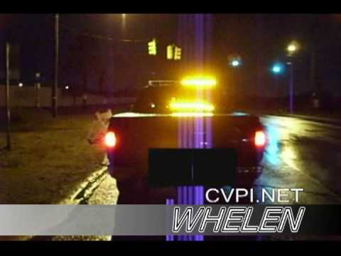 Whelen LFL Liberty LED Vs Vanguard 3000 LED lightbars