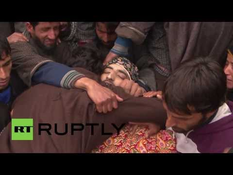 militant rehabilitation - Thousands of people, including women and children, have gathered in south Kashmir on Wednesday for the funeral of banned Hizbul Mujahideen militant who was k...