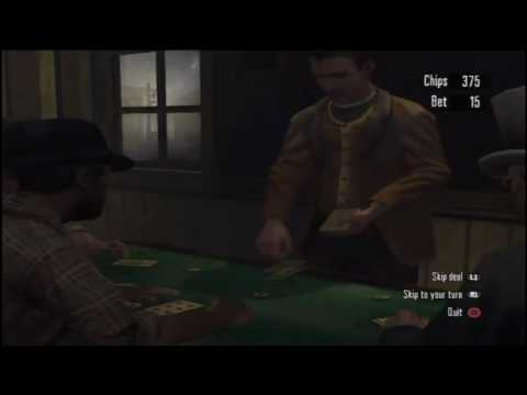 Red Dead Redemption: How to play Blackjack