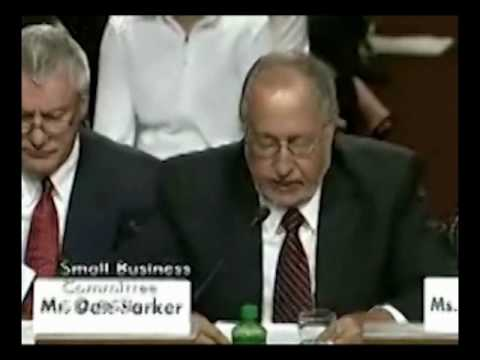 US Senate: Video of C.I.Agent Solutions testimony in Washington