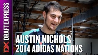 2014 Austin Nichols Interview - DraftExpress - Adidas Nations