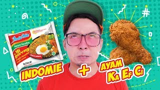 Video INDOMIE + KFC !! Enak Gak Ya!? #EGY MP3, 3GP, MP4, WEBM, AVI, FLV November 2017