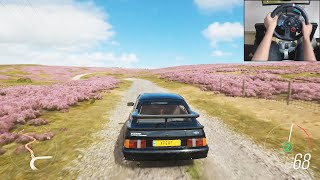 Ford Sierra Cosworth RS500 - Forza Horizon 4 | Logitech g29 gameplay