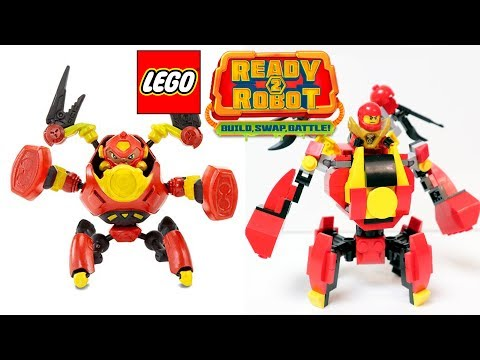 "LEGO Ready2Robot - How to build ""Brawlers"""