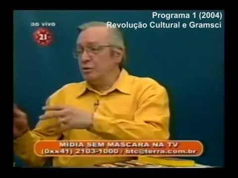 Olavo de Carvalho - Revolução Cultural e Gramsci (2004)