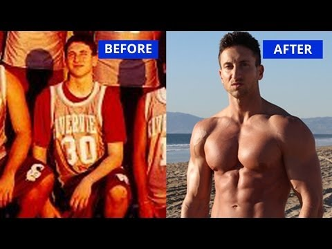 Ectomorph Body Transformation: How I Gained 60 Pounds Of Muscle Weight (Before & After)