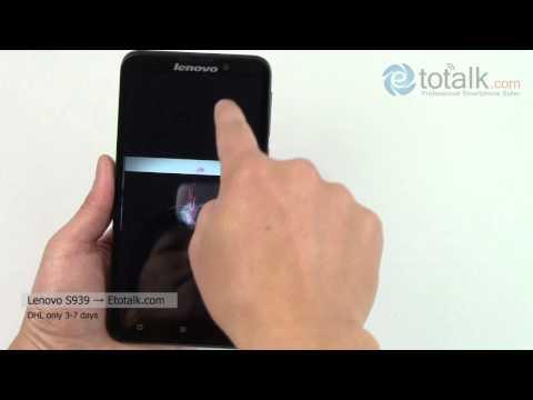 Lenovo S939 the 1st real Octa-Core Smartphone