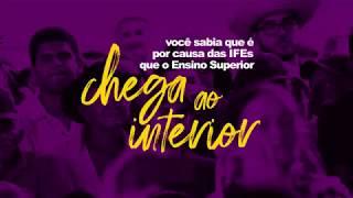 Campanha PROIFES em Defesa das IFES - Interiorização do ensino superior no Brasil
