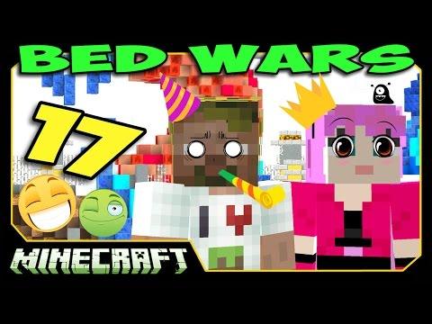 ч.17 Bed Wars Minecraft - Атака под Невидимостью!