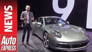 New Porsche 911 - latest 992-generation 911 is show stealer at LA by Auto Express