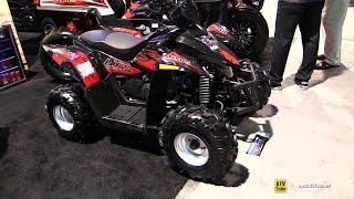 5. 2017 HiSun Axis 110 Recreational ATV - Walkaround - 2016 SEMA Las Vegas