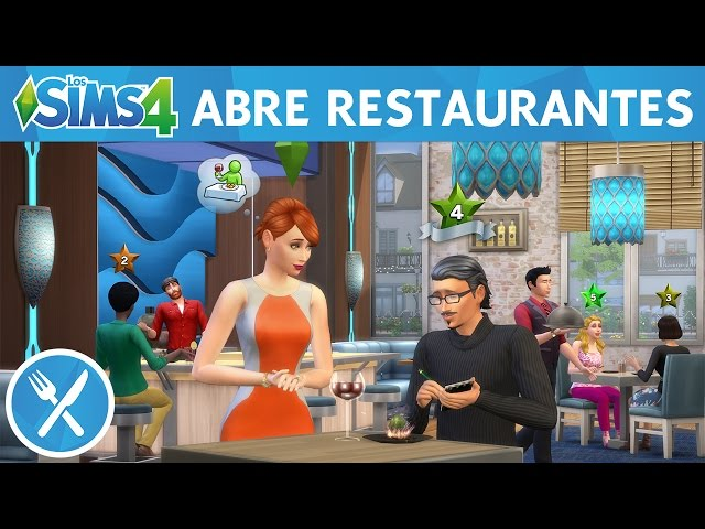 Los Sims 4 Escapada Gourmet: Abre restaurantes - Tráiler oficial de juego