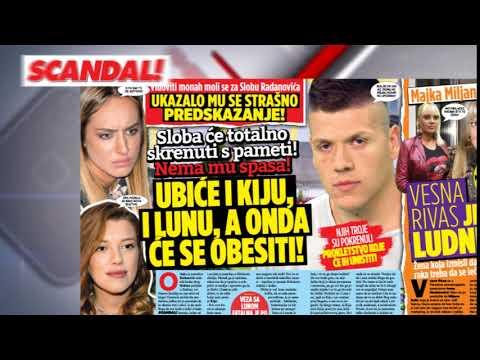 SCANDAL NOVINE: Ispovest oca Harisa Berkovića: Rada Manojlović nas je u crno zavila! Jezive slutnje monaha: Sloba će ubiti i Lunu i Kiju pa će se obesiti! Bekuti crnom magijom prave pakao od života!