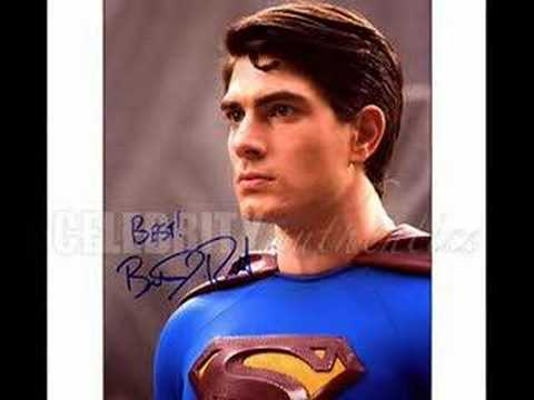 Brandon Routh- Superman Without Tights