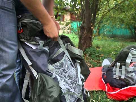 Рюкзак 120 л Nova Tour Абакан v.2. Видеообзор.
