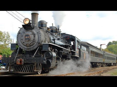 The Valley Railroad: Steamin' Along the Connecticut Valley Line
