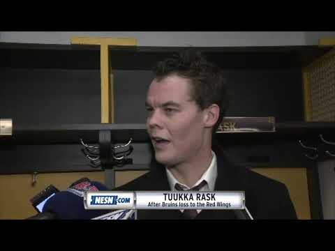 Video: Tuukka Rask on involvement in fight that broke out vs. Red Wings
