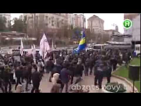 Украина - мировой лидер по Майданам - Абзац! - 28.11.2013 (видео)