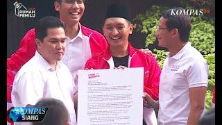 Video Momen Pertemuan Sandiaga Uno dan Erick Thohir MP3, 3GP, MP4, WEBM, AVI, FLV Juli 2019
