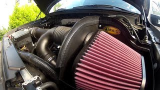 Ecoboost F-150 Airaid intake install and sound test
