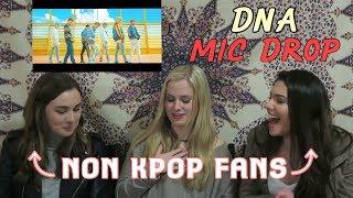 Video NON KPOP FANS REACT TO BTS- DNA, MIC DROP MP3, 3GP, MP4, WEBM, AVI, FLV April 2018