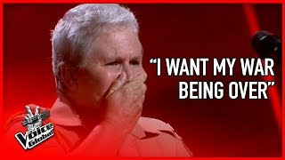 Video WAR VETERAN made The Voice coaches CRY | STORIES #3 MP3, 3GP, MP4, WEBM, AVI, FLV Juni 2018
