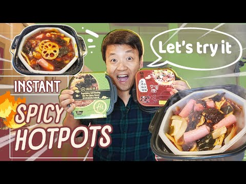 Play this video Trying INSTANT SPICY HOTPOT amp MOST PAINFUL Video I Ever Filmed! STORY TIME