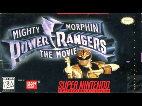 Mighty Morphin Power Rangers : The Movie Super Nintendo