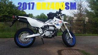 10. Bought a 2017 DRZ400sm Supermoto. Sold the DR650. + Ride Review