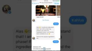 Review of Simi Bartender Bot