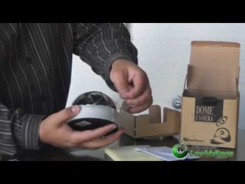 Spy Camera Dummy Dome – Fake Ceiling-Mounted Dome Camera for CCTV Surveillance System – YouTube