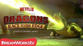Video New Dragon Revealed: Cavern Crasher   DRAGONS: RACE TO THE EDGE MP3, 3GP, MP4, WEBM, AVI, FLV September 2018