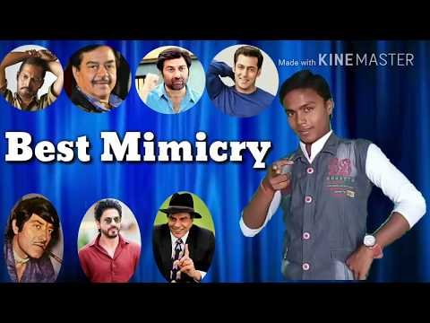 The great Indian laughter challenge best mimicry of top bolllywood actors by sanjeet fack video