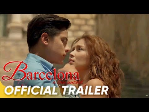 Barcelona: A Love Untold Official Trailer | Kathryn, Daniel | 'Barcelona: A Love Untold'