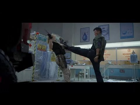 Wolf Warrior 2 - Hospital Fight Previs | Wu Jing