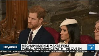 Video Meghan Markle carries out first royal engagement with Queen Elizabeth MP3, 3GP, MP4, WEBM, AVI, FLV Maret 2018