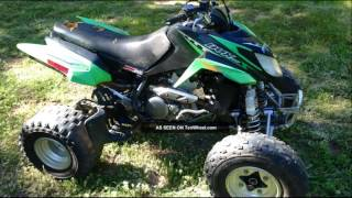 1. arctic cat dvx 400