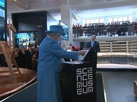 R - Queen Elizabeth II has sent her first tweet - and she's signed it