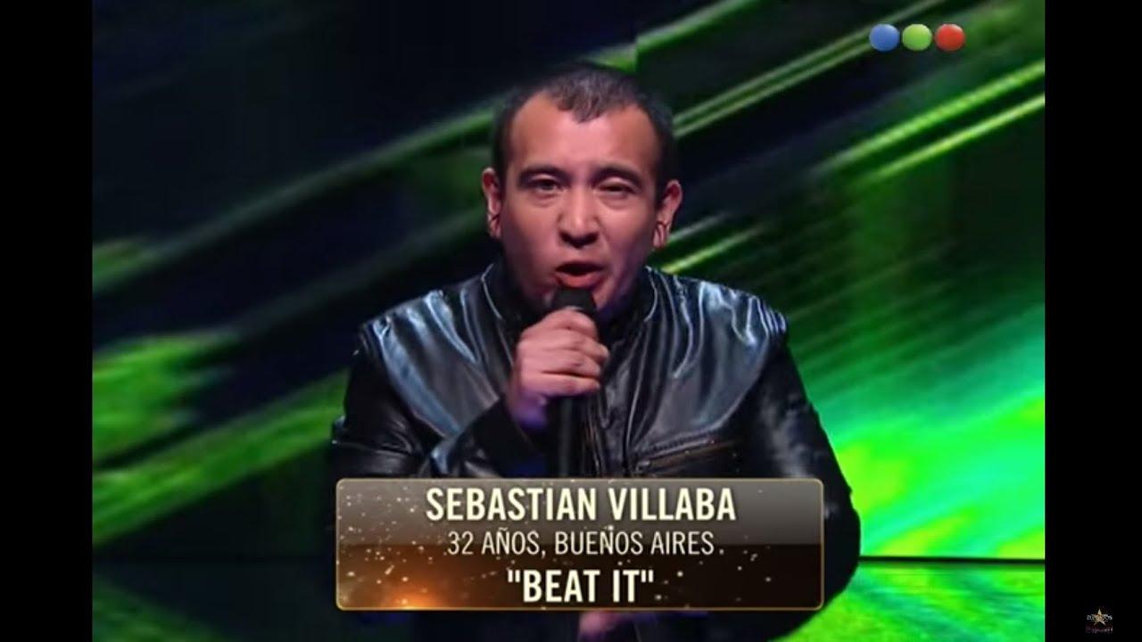 "Sebatián Villalba canta ""Beat It"" – Elegidos #Elegidos"