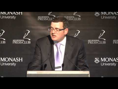 Melbourne Press Club Address