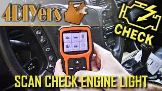 Autophix Canada: https://www.amazon.ca/Scanner-AUTOPHIX-Engine-Diagnostic-Function/dp/B072B7X82CAutophix USA: https://www.amazon.com/Automotive-Scanner-Autophix-Reader-Diagnostic/dp/B072B7X82CVideo tutorial on how to scan and erase your check engine light. A check engine light or also known as a cel for short is a fault with your vehicle's engine which will illuminate a light on your gauge cluster as shown here. When a fault is present, this light has two modes. One will be solid or stay on all the time or blink. When the light is solid, there is obviously a problem but it's not an immediate issue. That doesn't mean it shouldn't be fixed either as the fault can cause increased damage depending on what it is. For a blinking cel, this means there is an immediate issue where the vehicle should not be driven and the vehicle must be fixed immediately. Website: http://4diyers.comPatreon: https://www.patreon.com/4diyersFacebook: https://www.facebook.com/4diyersGoogle Plus: https://plus.google.com/+4DIYersTwitter: https://twitter.com/4DIYersInstagram: https://www.instagram.com/4diyers/Tumblr: http://4diyers.tumblr.comPintrest: https://www.pinterest.com/4diyers/Tools/Supplies Needed:-OBD2 scanner/code readerProcedure:-to determine if the check engine light is working, you can turn the key onto the run position, there is no need to start the vehicle and this will illuminate the whole gauge cluster showing the functioning lights-if your light does not illuminate, it is either burnt out or someone has removed it-locate the diagnostic port-this system has a generalized plug area, usually within 3' feet or 91cm of the steering wheel, generic plug, and they share the same fault code meaning-for this vehicle which is a 1997 BMW 540i, the plug is located under the steering column on the left side -the 1998 Ford Ranger, this also shares a similar area, this time towards the center directly underneath the steering column covered by a cap-once you've located that port, plug in the diag