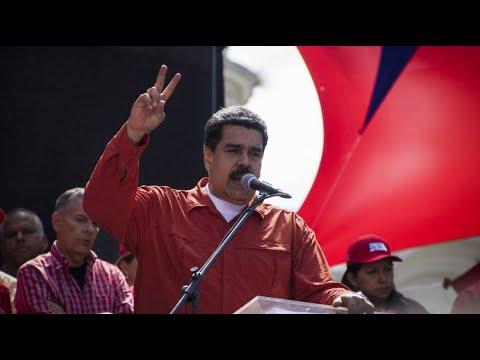 Start der Wahlkampagne: Maduro will weiterregieren
