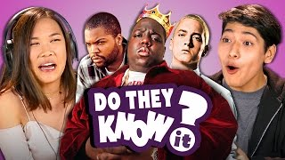 Video DO TEENS KNOW 90s HIP HOP? (REACT: Do They Know It?) MP3, 3GP, MP4, WEBM, AVI, FLV Desember 2018
