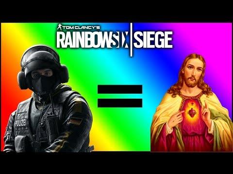 *NUTTY* SPAWNPEEK WALLBANG! || Rainbow Six Siege (видео)
