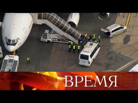 В Москву возвращаются российские дипломаты, которых выслали из Великобритании.