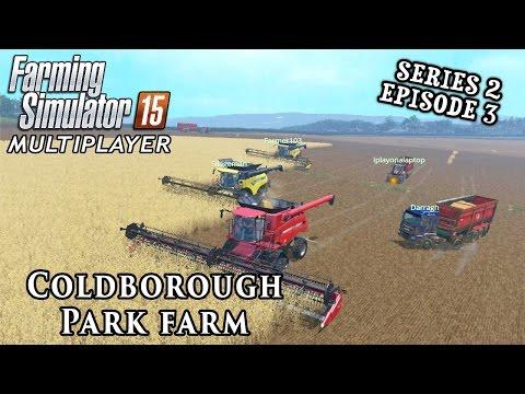 Multiplayer Farming Simulator 15 | Coldborough Park Farm S2 Ep3
