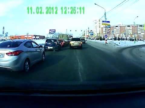 Авиаторов, 54, 12 февраля 2012, Hyundai Santa Fe